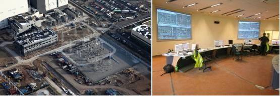 Wyprowadzenie mocy bloku 858 MW