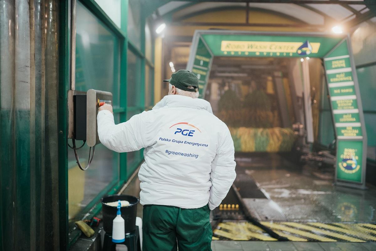 Greenwashing od PGE