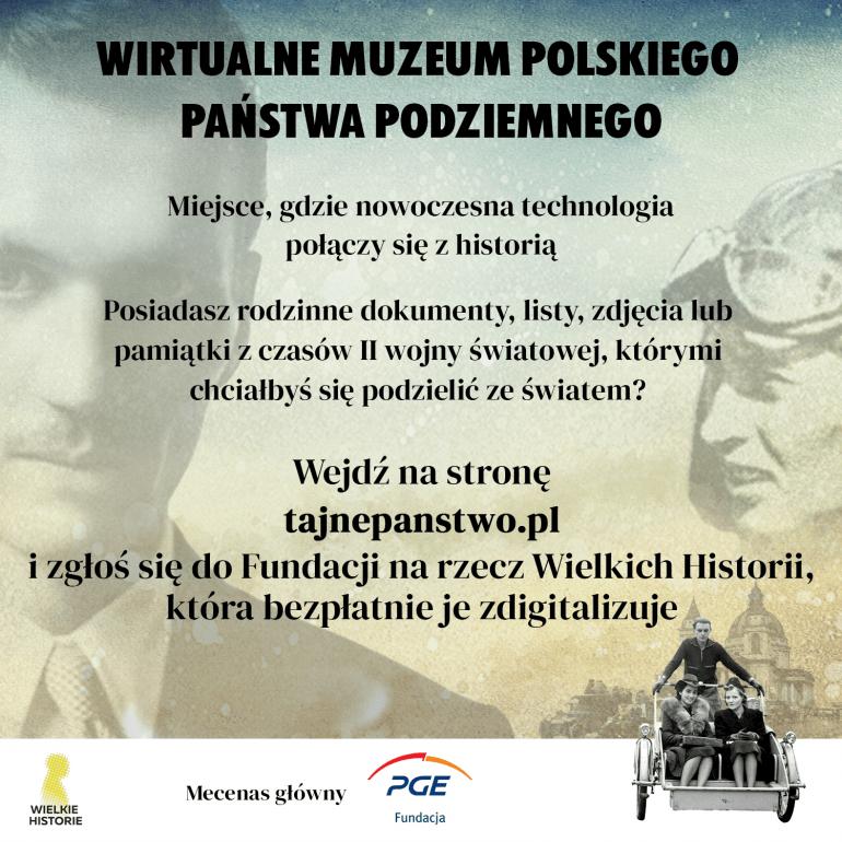 PGE Wirtualne Muzeum Państwa Podziemnego