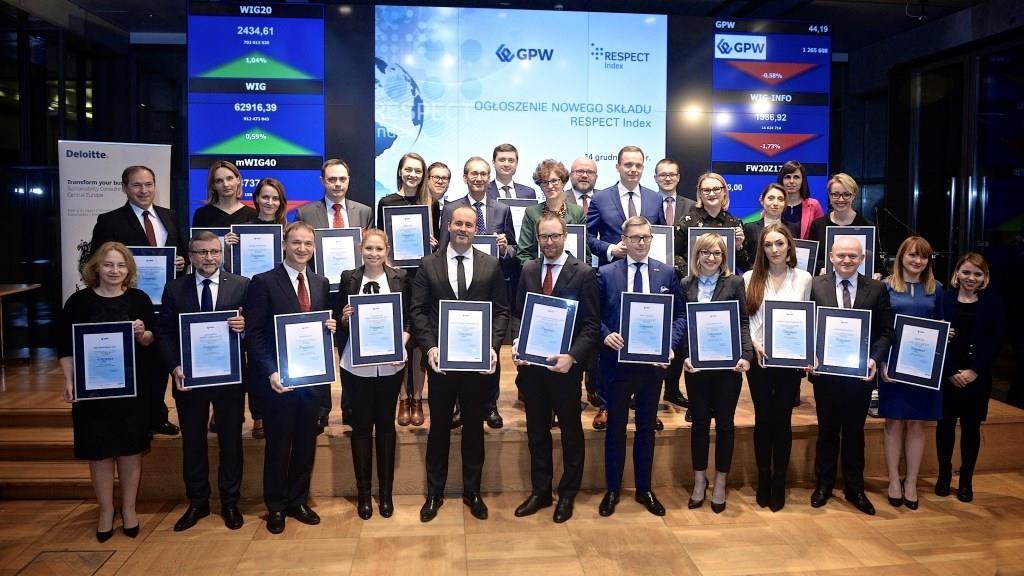 PGE najlepsza wśród spółek przemysłowych w XI edycji RESPECT Index