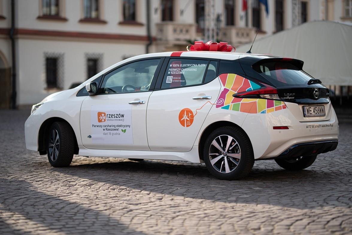 PGE 4Mobility elektryczny carsharing w Rzeszowie