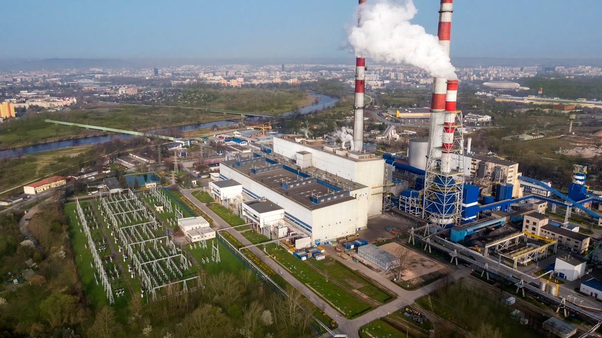 Elektrociepłownia w Krakowie