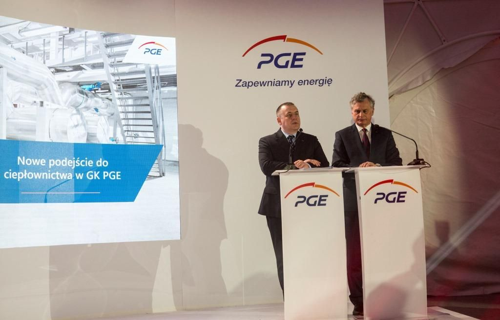 District Heating Strategy of PGE Group