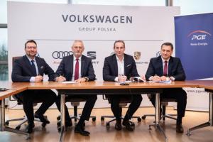 PGE Nowa Energia i Volkswagen - podpisanie umowy