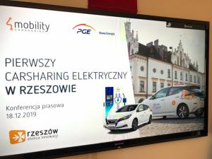 PGE 4Mobility electric car rental service