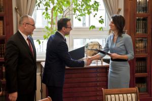 PGE Baltica podpisanie umowy z Państwowym Instytutem Geologicznym