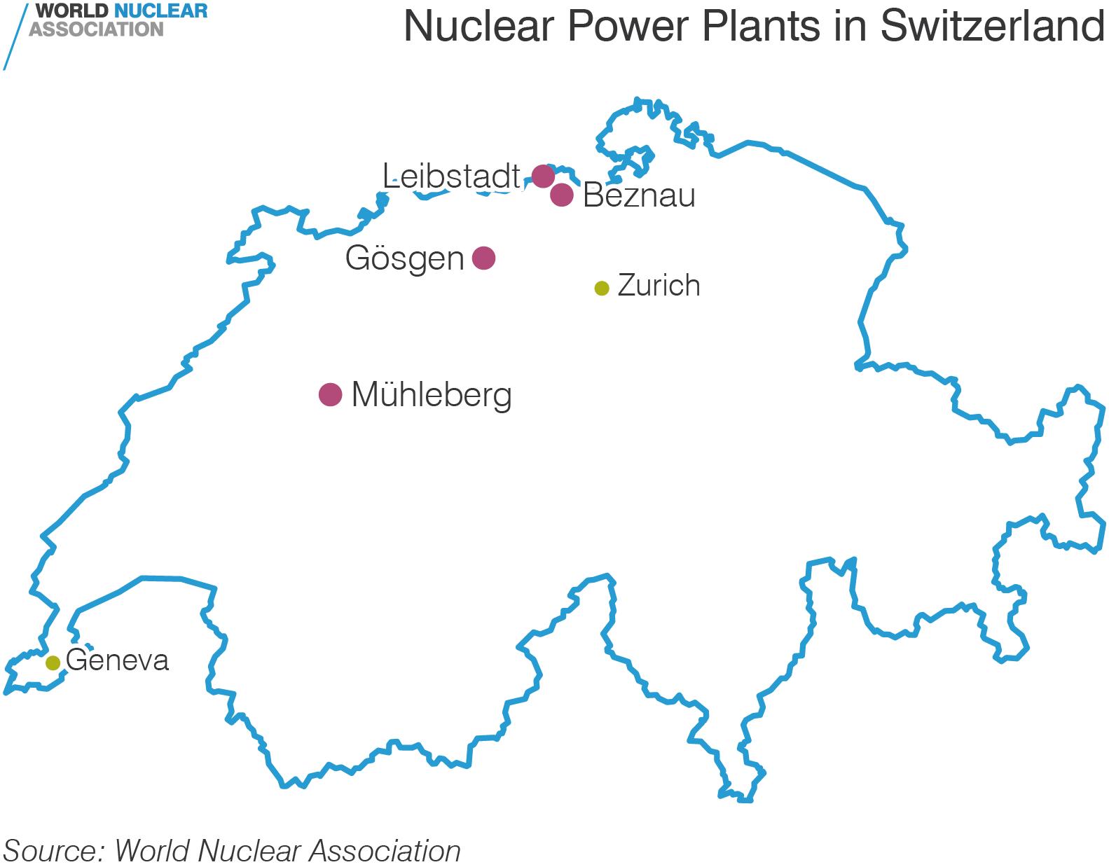 Szwajcarzy nie chcą szybkiego wyłączenia elektrowni jądrowych